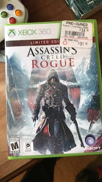 Assassin's creed Rogue limited edition xbox 360 game case Centreville, 20121