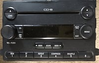 2006 Ford F350SD AM FM 6 Disc CD Player Radio 6C3T-18C815-AB OEM New Carrollton, 20706