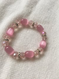 Beautiful pink glass bead bracelet  Kelowna, V1X 1A3