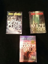 Maze Runner Book Series 1-3 Rosamond, 93560