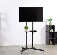 """Tv rack MOBILE! for TVs 35"""" to 65 inches  Montréal, H3G 2K1"""