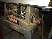 Craftsman Table Saw Mississauga, L5N 3R3
