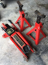 Hydraulic Trolley Jack and Stands Mississauga, L5W