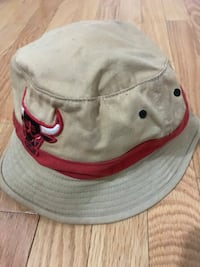 white and red fitted cap Mississauga, L4T