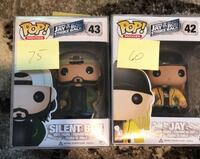 Jay and Silent Pop Funko Pop Lot Toccoa, 30577