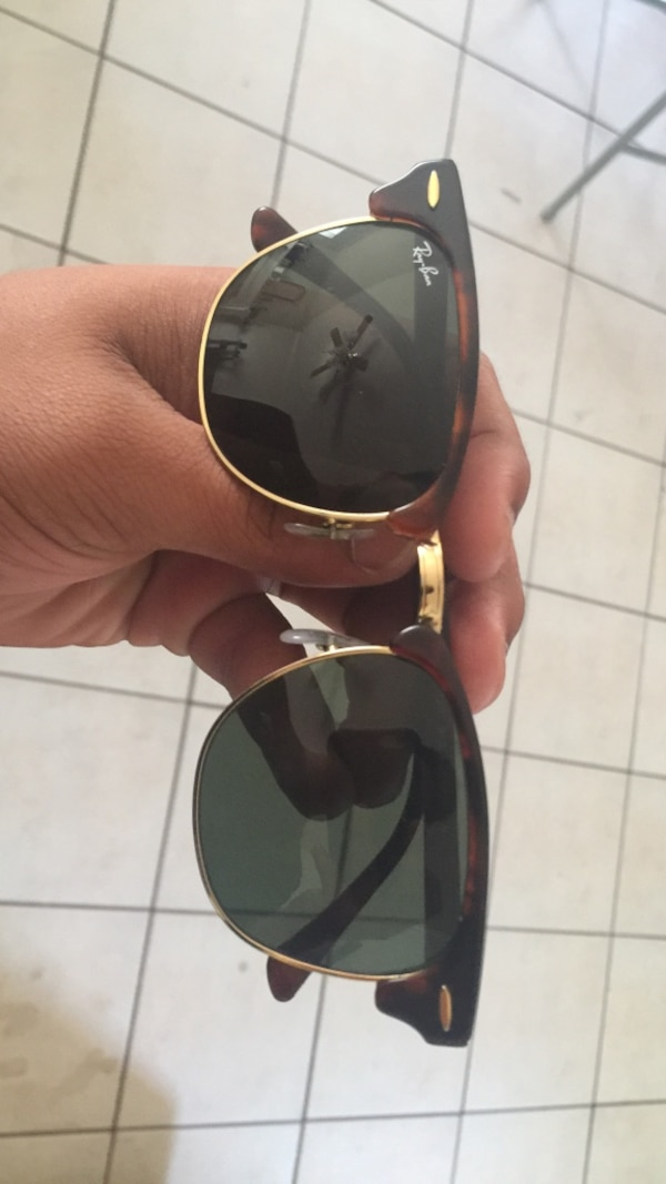 b2d34a27f1b8 Used brown tortoiseshell Ray-Ban clubmaster sunglasses for sale in Waco -  letgo