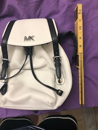 white and black leather crossbody bag Washington, 20008