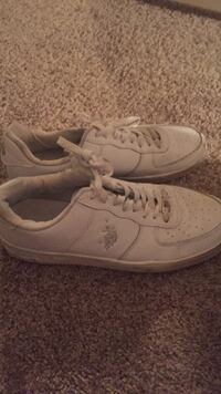 white polo ralph lauren low top sneakers Silver Spring, 20904