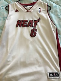Authentic Lebron James Miami Heat Jersey Youth XL