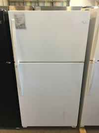 white top-mount refrigerator Memphis