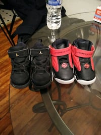 pair of black-and-red inline skates East Riverdale, 20737