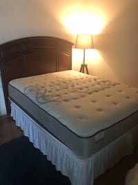 Sealy Plush Mattress Set Barely Used 75% discount from Retail San Diego, 92101