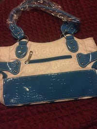 blue and white gucci bag South Bend, 46615