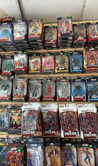 Dragon ball Z and X Men Marvel legends action figures please read  New York, 10029