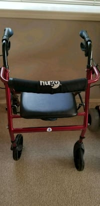 red and black rollator walker Calgary, T3R 1R4