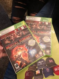 two Xbox 360 game cases Fairburn, 30213