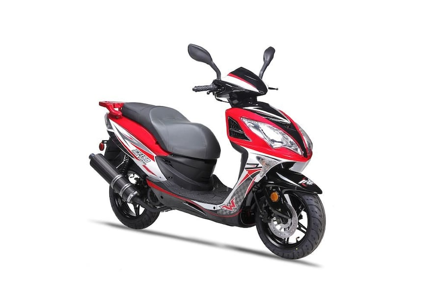 WOLF SCOOTER EX-150 SPORT 2019 0