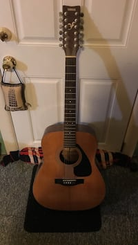 brown and beige Yamaha acoustic guitar Atlantic City, 08401