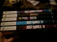 Xbox 360 Kinect  games Calgary, T2A 5S6