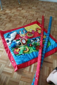 Baby Play Mat With Toys  Toronto, M5V 3B9