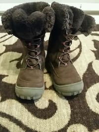 Brown snow boots size 8m kids/baby Toronto, M1S 4E7
