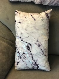 Purple & Silver throw pillow Langley, V3A 3X1