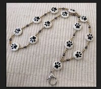 Move Over Rover Dog Themed ID Badge Lanyard-One of A Kind-Hand Made. North Andover, 01845