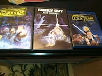 3 DVD COLLECTIONS OF FAMILY GUY SPOOF OF Star Wars Markham, L3R 5Z6