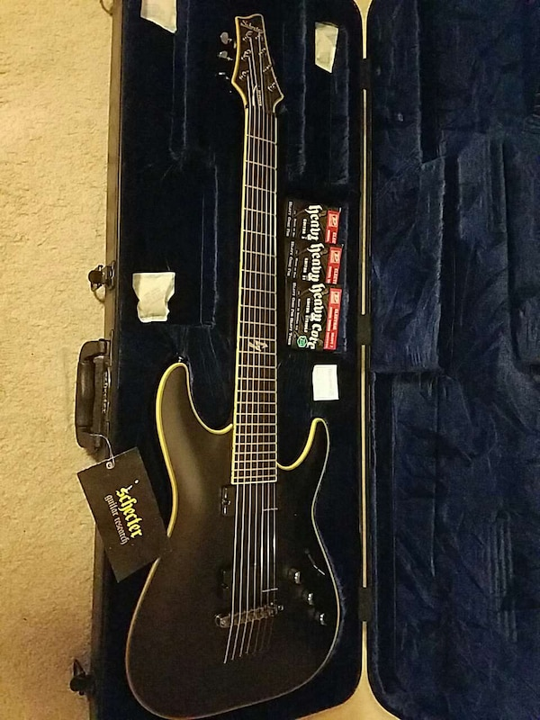 Used Schecter Blackjack Atx C 7 For Sale In Alaska Letgo