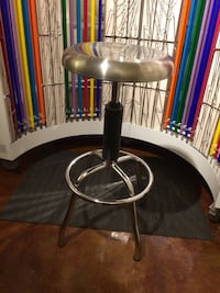 Used Stainless Steel Stool For Sale In Brookhaven Letgo