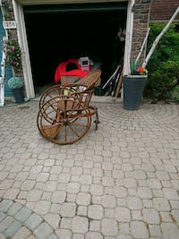 Edwardian wooden wheel chair Mississauga, L5H 3W6