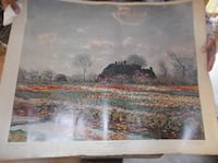 red and white flower field near house poster New Carrollton
