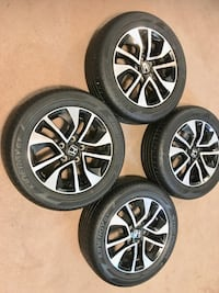 215/55/16 Rims OME and Tires all seasons excellent  London, N6E 3H8