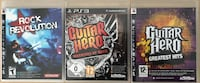 Ps3 oyun guıtar hero & rock revolution özel koleksiyon