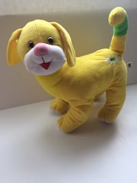 "Collectible Yellow Cat Stuffed Animal 12"" Perfect Condition Glendale"