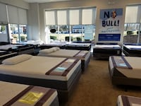 Every Mattress Half off with 0% financing no credit needed!!!  Charlotte