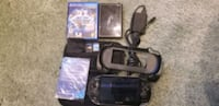 PS Vita with games & accessories Mississauga, L5M 4Z5