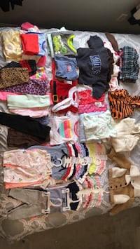Large lot of baby clothes message me for prices