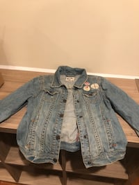 PS Jean jacket- size 12 Girls