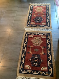 Syrian orginal carpets both $50 or $30 each Coquitlam, V3C 5L6