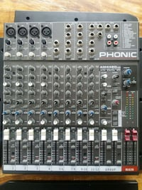 PHONIC AM442D USB 12-Channel Compact Mixer Knarrevik, 5355