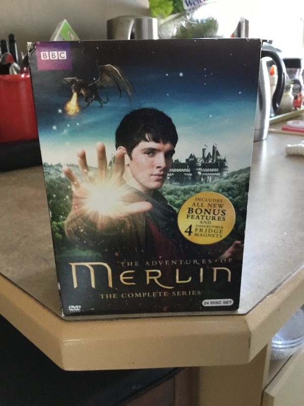 CLASSIC MERLIN COMPLETE DVD SERIES .
