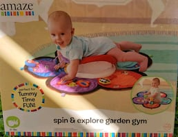 Baby Spin & Explore Tummy Time Gym