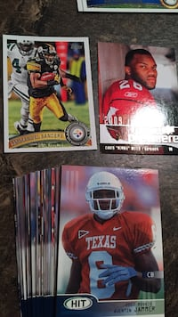 Football trading cards