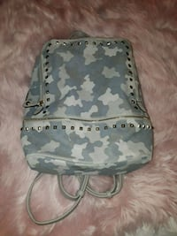 gray and black camouflage backpack Madera, 93638