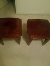 two brown wooden side tables Woodbridge, 22191