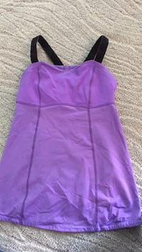 Sz 6 Lululemon Purple Yoga Tank  Ashburn