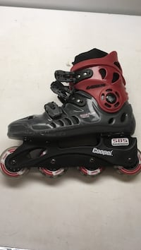 pair of black-and-pink inline skates Dartmouth, B2W