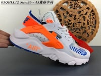 white-and-orange Nike Air Max shoes San Diego, 92105