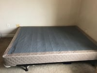 Queen box spring and bed frame Phoenix, 85008
